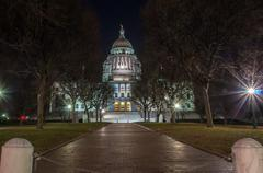 rhode island state house in providence, rhode island. - stock photo