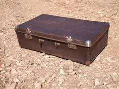 Stock Photo of very old suitcase