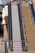 Escalator in the las vegas strip Stock Photos
