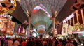 Light Show at Fremont Street Experience, Las Vegas Footage