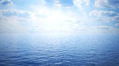 ocean 01 - stock footage