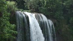 Pulhapanzak Waterfalls in Honduras Stock Footage