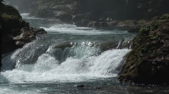 Pulhapanzak Waterfalls in Honduras - stock footage
