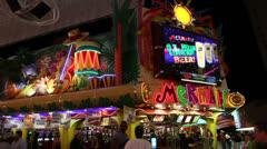 Mermaids Casino, Las Vegas Stock Footage