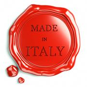 Wax seal of italy Stock Illustration