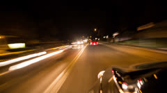 Speedy Driver - stock footage
