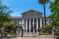 Former national congress building, santiago de chile Stock Photos