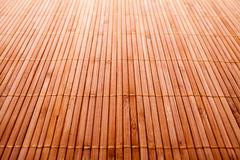 Bamboo wood texture with natural patterns Stock Photos