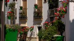 White village, Spain Stock Footage