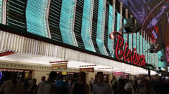 Binion's Gambling Hall and Hotel, Las Vegas Stock Footage