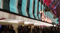 Binion's Gambling Hall and Hotel, Las Vegas Footage