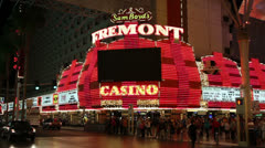 Sam Boyd's Fremont Casino and Hotel, Las Vegas - stock footage