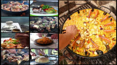 Food composition - stock footage