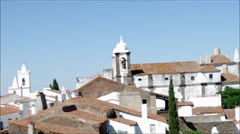 Monsaraz, old village Stock Footage