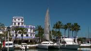 Stock Video Footage of Estepona  marina, Costa del Sol