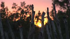 Southwest Sunset - stock footage