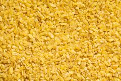 Bulgur wheat pattern Stock Photos