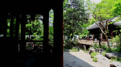 Yu Garden Stock Footage