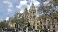 The Natural History Museum, London, UK. Stock Footage