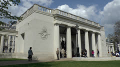 The Bomber Command Memorial, Green Park, Hyde Park Corner, London, UK. Stock Footage