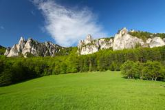 Beautiful view of the austrian alps Stock Photos