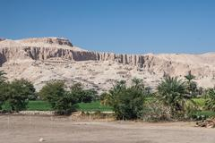 Valley of the Kings near Luxor, Egypt Stock Photos