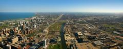 South Chicago ilmakuva Kuvituskuvat