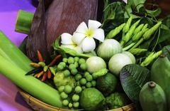 Beautiful vegetable Stock Photos