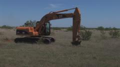 Mesquite tree extraction 2 Stock Footage