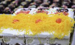 candy cake - stock photo