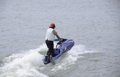 Jetski racing Stock Photos