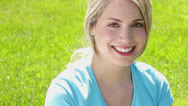 Stock Video Footage of young beautiful woman smiling