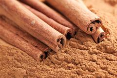 Stock Photo of cinnamon sticks