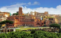 Rome - foro traiano Stock Photos