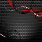Abstract vector background with copy space Stock Illustration