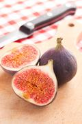 fig fruit - stock photo