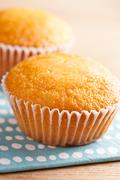 sweet muffins - stock photo