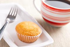 sweet muffin - stock photo