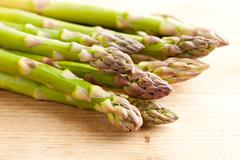 Stock Photo of fresh green asparagus