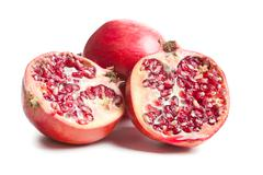 sweet pomegranate - stock photo