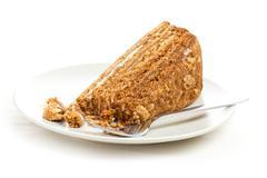 sweet honey-cake - stock photo