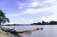 regatta in thailand - stock photo
