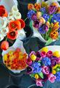 Stock Photo of colorful floral bouquets
