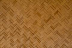 Bamboo wood texture ,thai handwork,native thai style bamboo wall Stock Photos