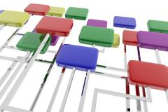 Organization - stock illustration