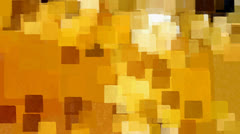Yellow squares pattern Stock Footage