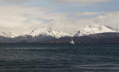 Sailing on Sunday Stock Photos