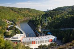 Hydroelectric power plant Stock Photos