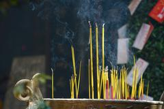Incence sticks Stock Photos
