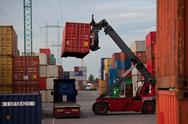 Stock Photo of container manipulation